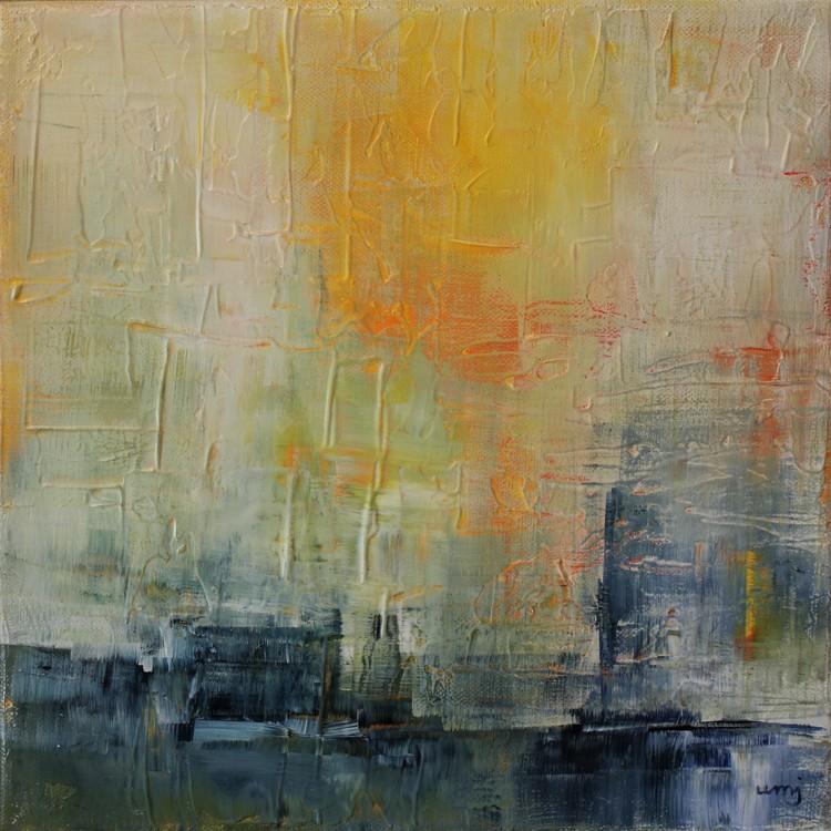 'Morgonstund', 2019, ett konstverk av Ulla Maria Johanson