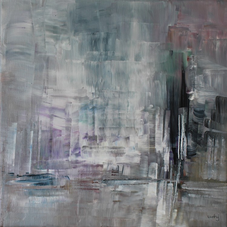 'Stillestånd', 2019, ett konstverk av Ulla Maria Johanson