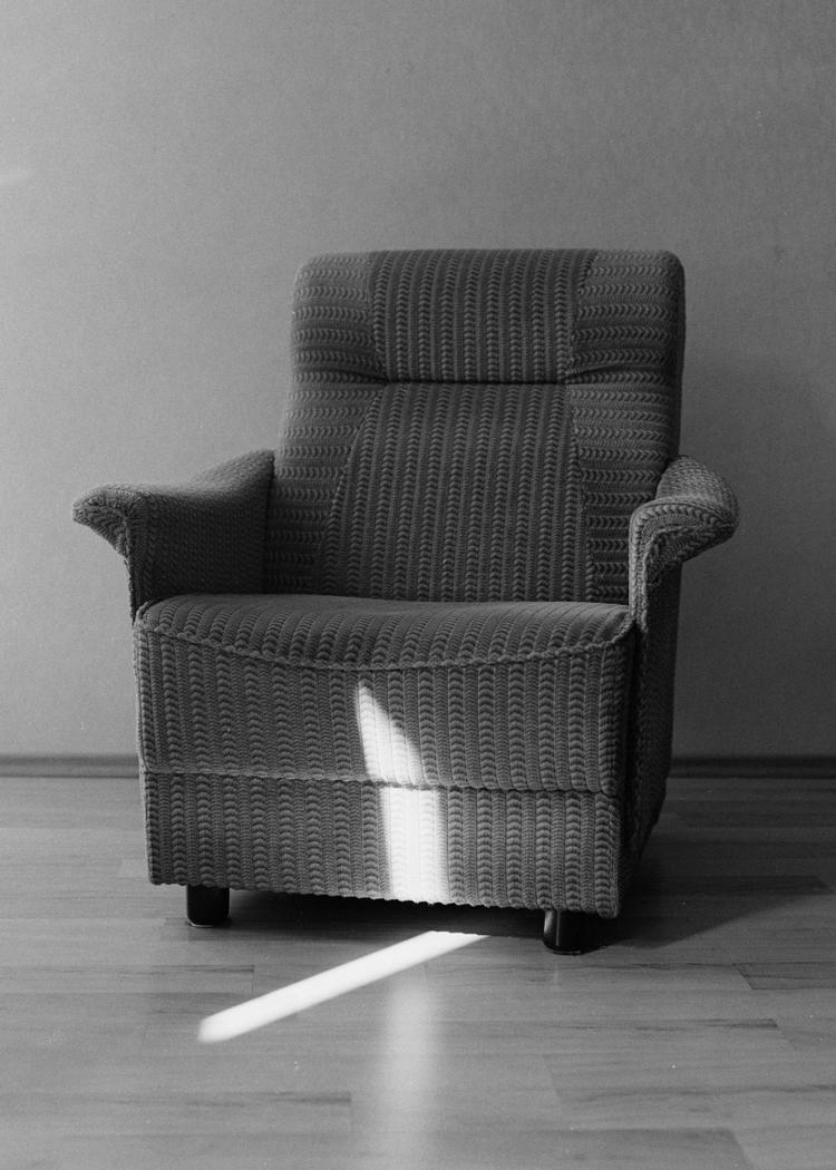 'The armchair', 2018, ett konstverk av Elsa Gregersdotter