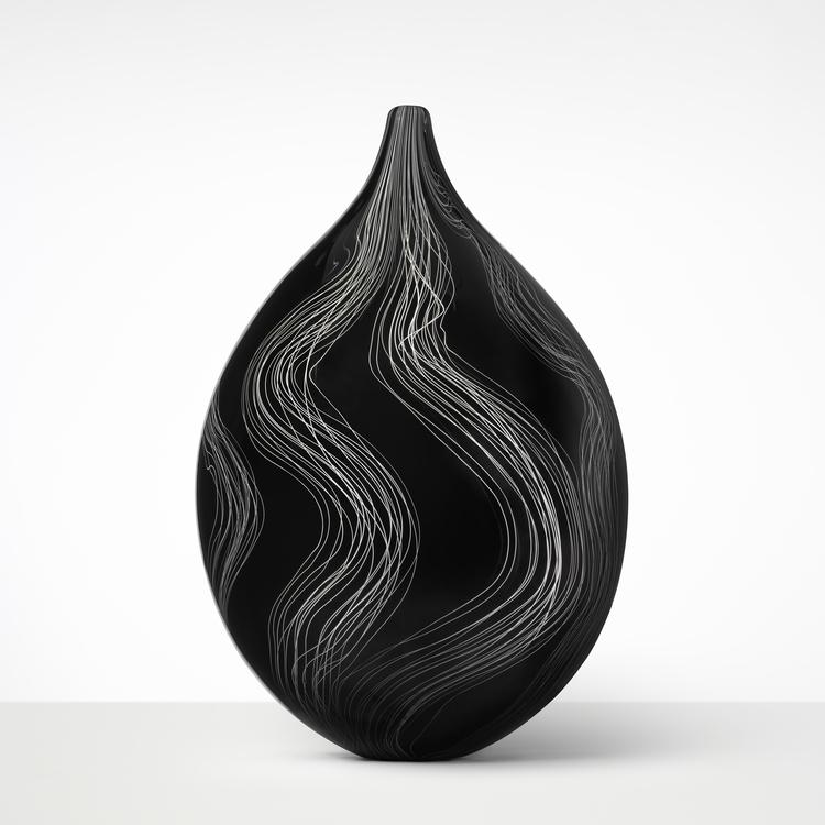 'THREADS XII', 2017, ett konstverk av Ann Wåhlström