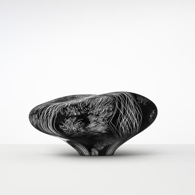 'STONE XIV', 2017, ett konstverk av Ann Wåhlström