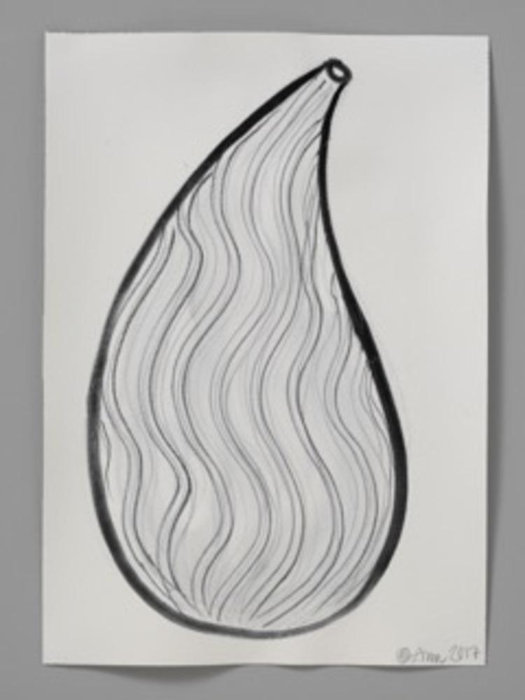 'DRAWING XXI', 2017, ett konstverk av Ann Wåhlström