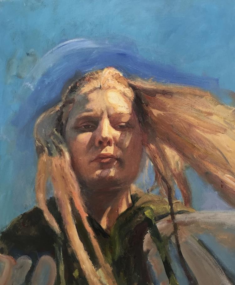 'Cornelia', 2018, ett konstverk av Victoria West