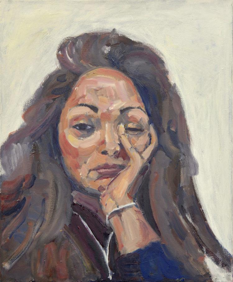 'Emilie', 2018, ett konstverk av Victoria West