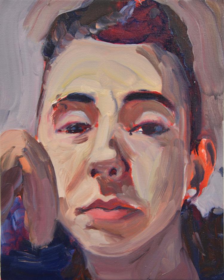 'Isabel', 2018, ett konstverk av Victoria West
