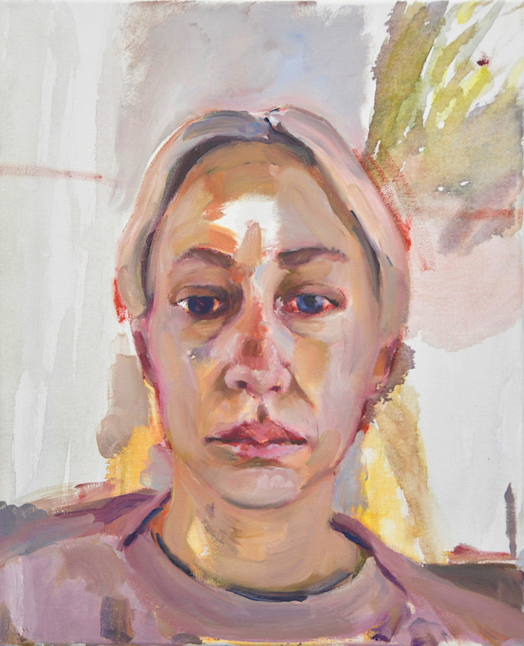 'Maja', 2018, ett konstverk av Victoria West