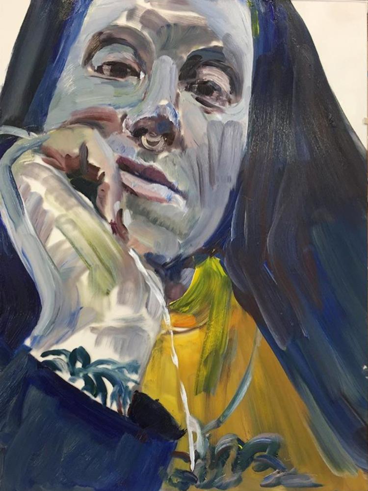 'Alex', 2019, ett konstverk av Victoria West