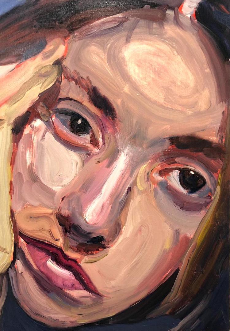 'Jo', 2019, ett konstverk av Victoria West