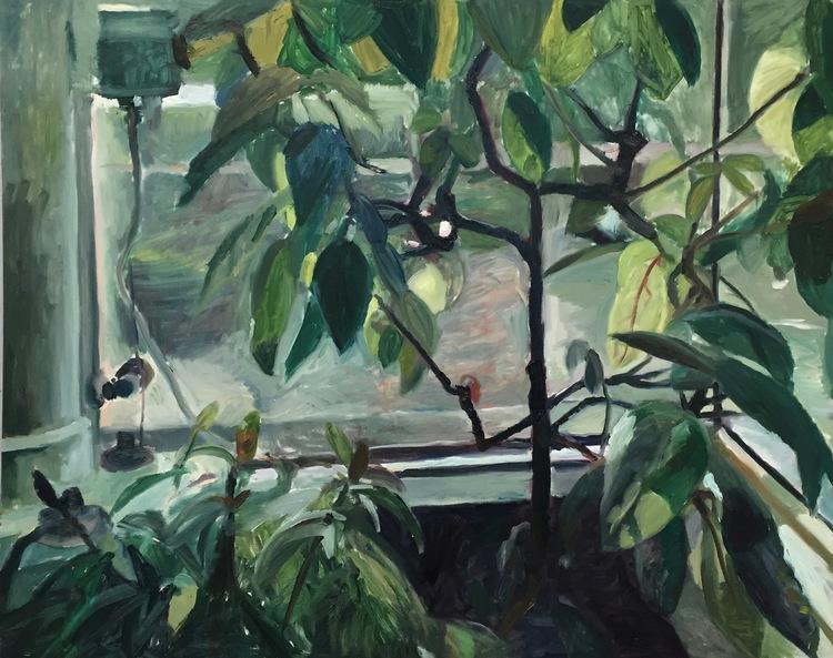 'Greenhouse Window', 2016, ett konstverk av Victoria West