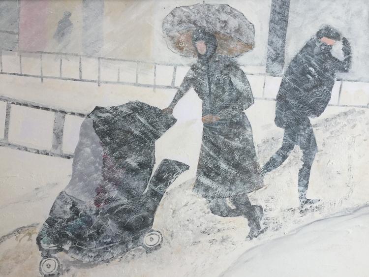 'Busshållplatsen', 2016, ett konstverk av Anders Gabrielsson