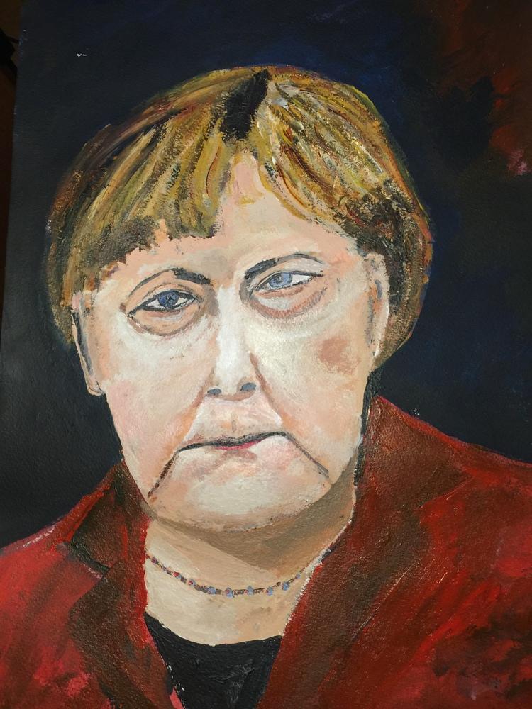 'Angela', 2018, ett konstverk av Anders Gabrielsson