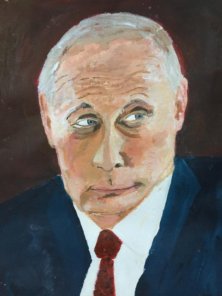 'Vladimir', 2018, ett konstverk av Anders Gabrielsson