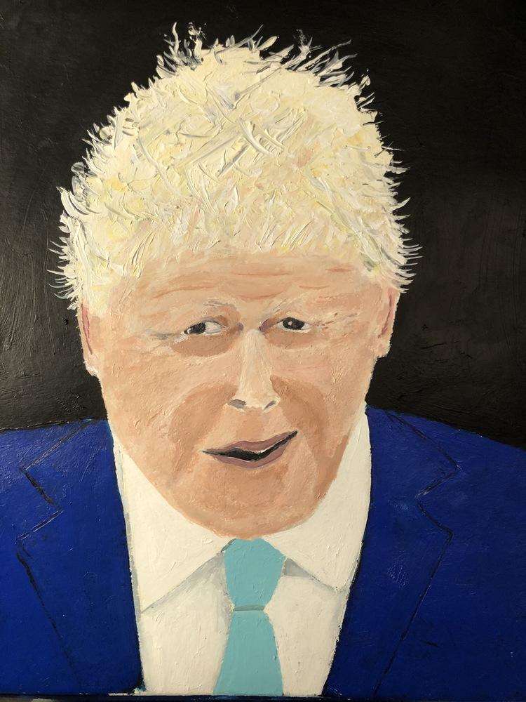 'Boris', 2019, ett konstverk av Anders Gabrielsson