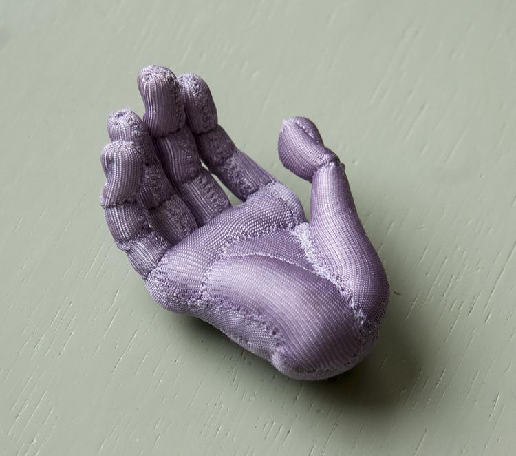 'Hand', 2017, ett konstverk av Kristina Skantze