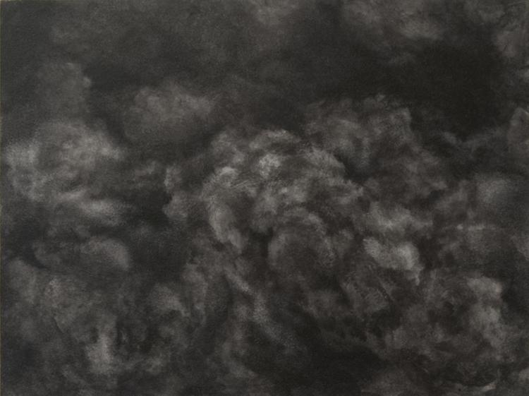 'Dissolution IV', 2017, ett konstverk av Magda Delgado