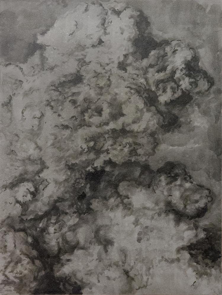 'Dissolution III', 2017, ett konstverk av Magda Delgado