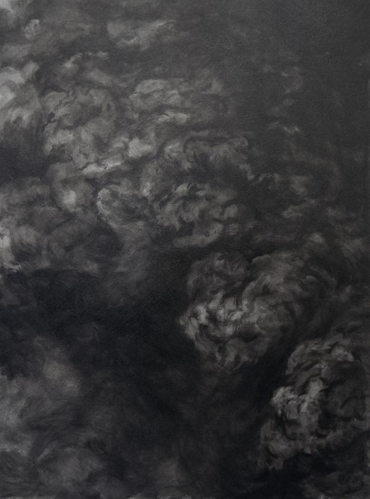 'Dissolution II', 2017, ett konstverk av Magda Delgado