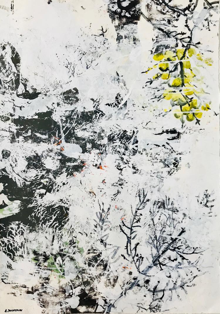 'Longevity's Garden #15', 2018, ett konstverk av Amélie Ducommun