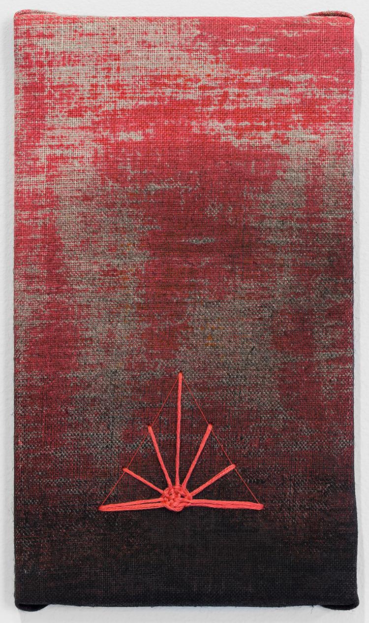 'Aurora III', 2019, ett konstverk av Magda Delgado