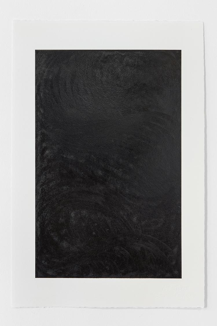 'Black Landscape IV', 2019, ett konstverk av Magda Delgado