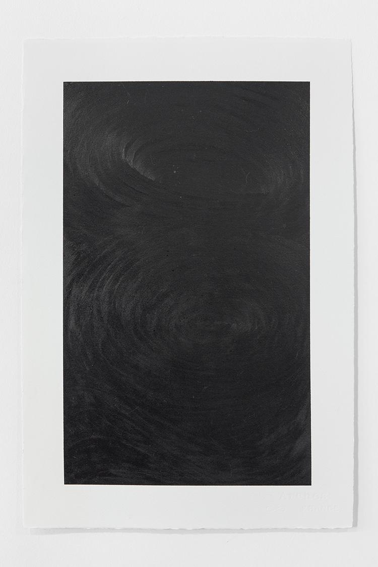 'Black Landscape VI', 2019, ett konstverk av Magda Delgado