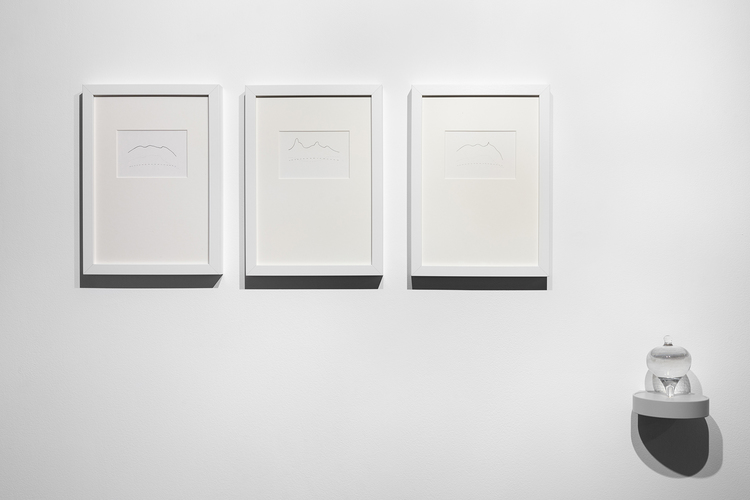 'Geoid / Geoide', 2019, ett konstverk av Gema Rupérez