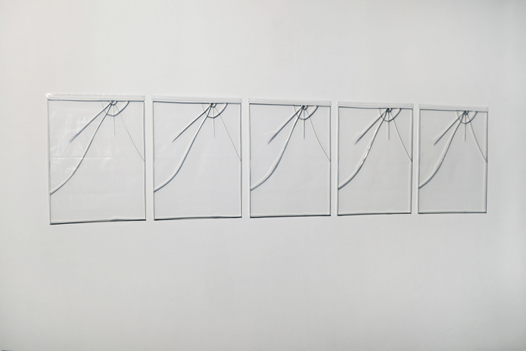 'Chapa 5', 2017, ett konstverk av Carlos Mensil