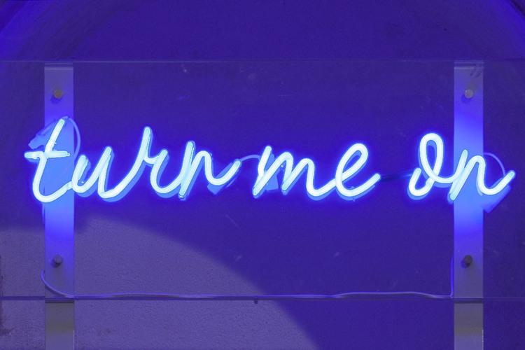'Turn me on', 2012, ett konstverk av Ana Perez Quiroga
