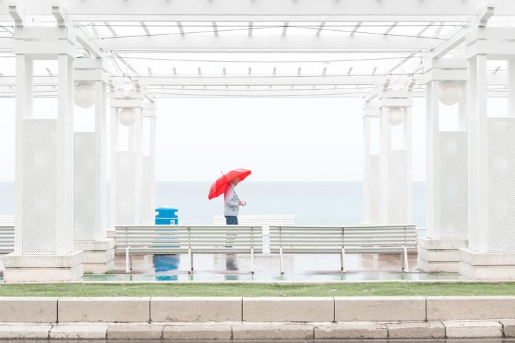 'The morning walk', 2015, ett konstverk av Joakim Blomquist
