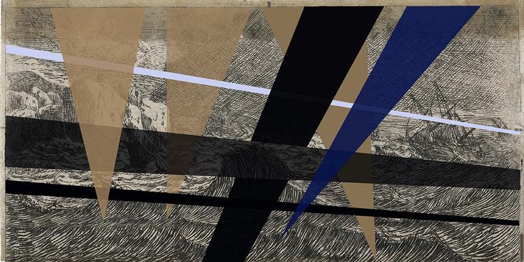 'Fara i havet, photo.', 2018, ett konstverk av Ann Frössén