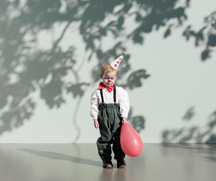 'CIRCUS / The Clown', 2018, ett konstverk av Nygårds Karin Bengtsson