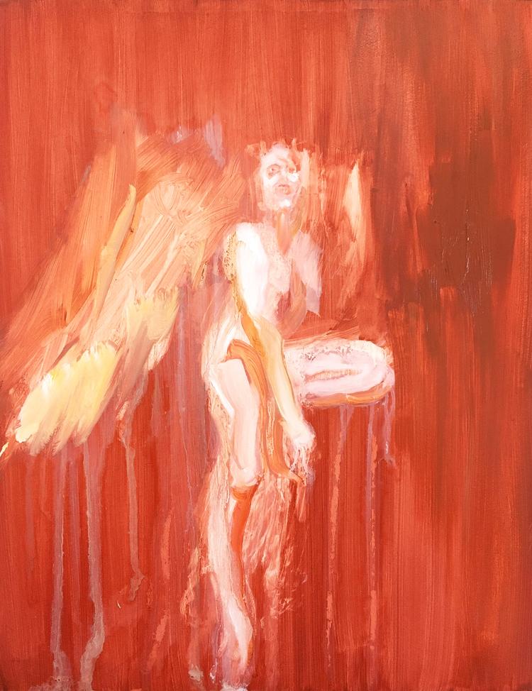 'Carnelian Dream X', 2019, ett konstverk av Kristoffer Grip
