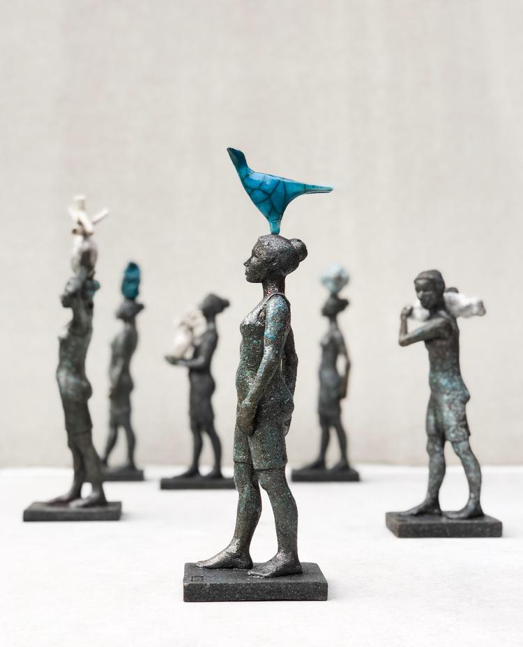 'Wayfarer', 2018, ett konstverk av Eva Larsson