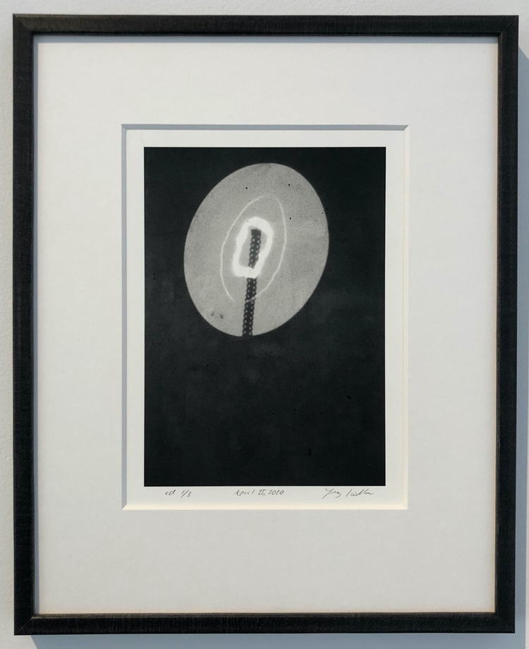 'April II', 2020, ett konstverk av Jenny Källman