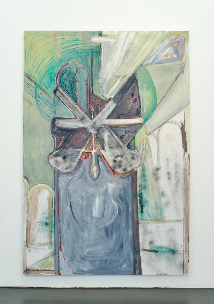 'Split', 2020, ett konstverk av Lina Bjerneld
