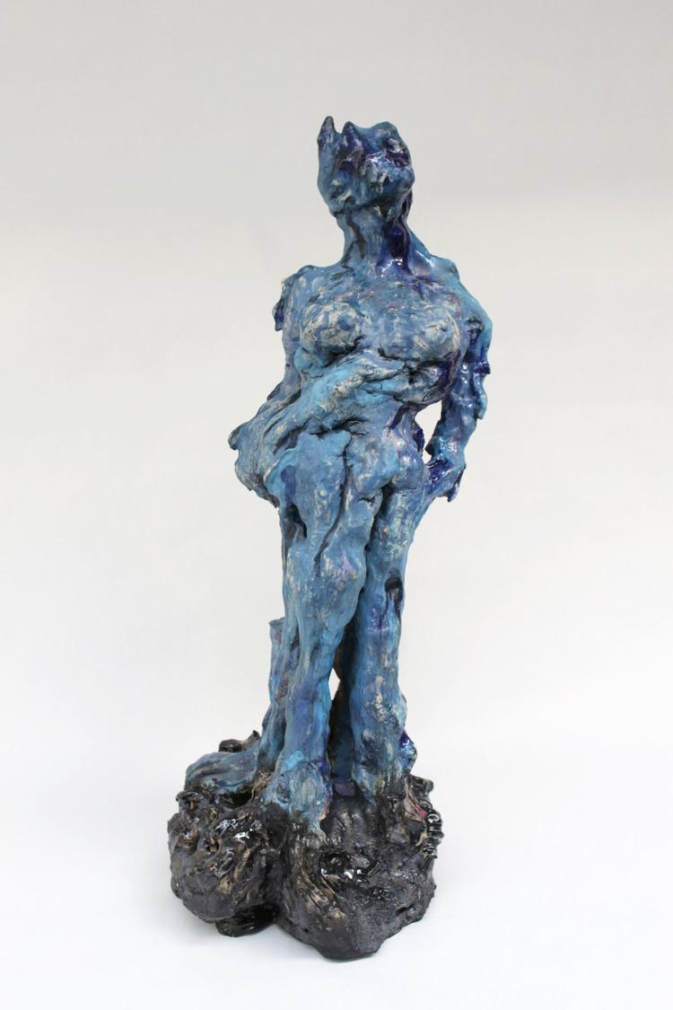 'Feeling blue', 2018, ett konstverk av Sara Gewalt