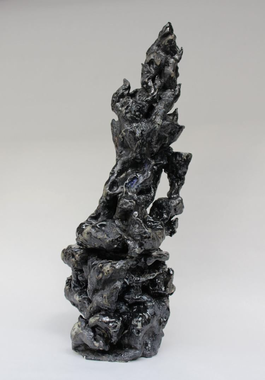 'Svart galla', 2018, ett konstverk av Sara Gewalt