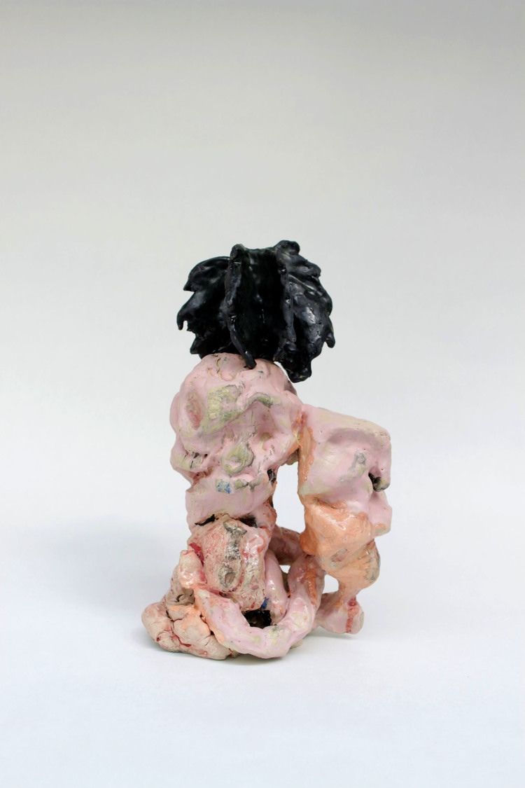 'Men ändå I love you baby', 2018, ett konstverk av Sara Gewalt