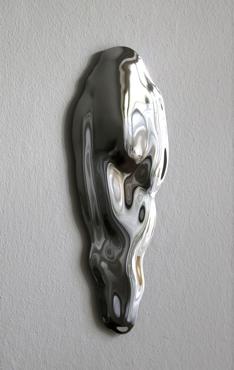 'Bodybuilding Mirror no 1', 2019, ett konstverk av Sofia Eriksson