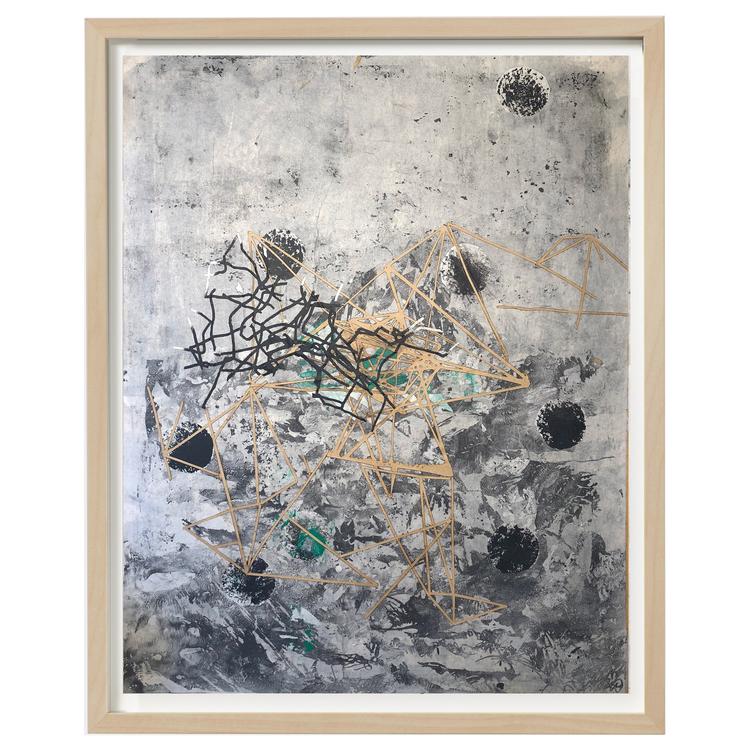 'Composition nr.4', 2018, ett konstverk av Luka Juras