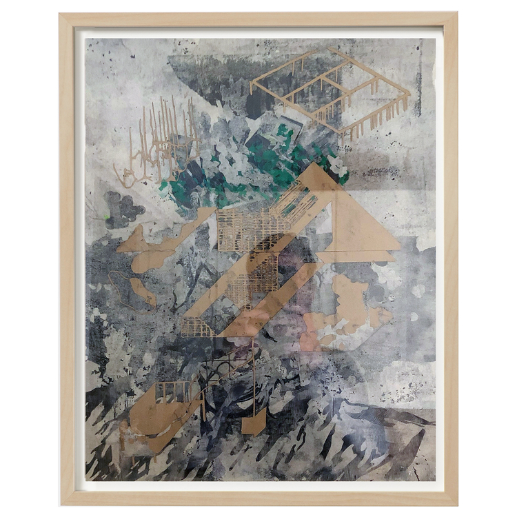 'Composition nr.6', 2018, ett konstverk av Luka Juras