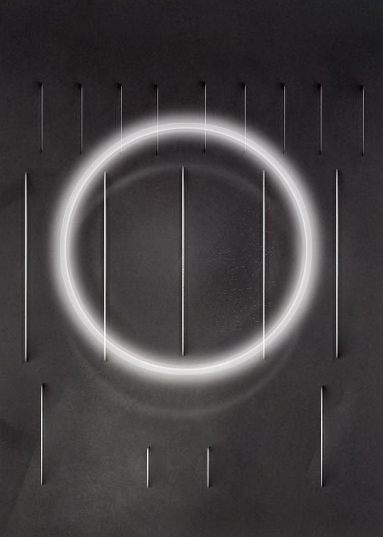 'Circle composition nr.1', 2018, ett konstverk av Luka Juras