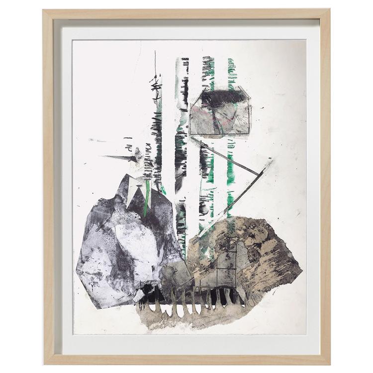 'Tree house', 2018, ett konstverk av Luka Juras