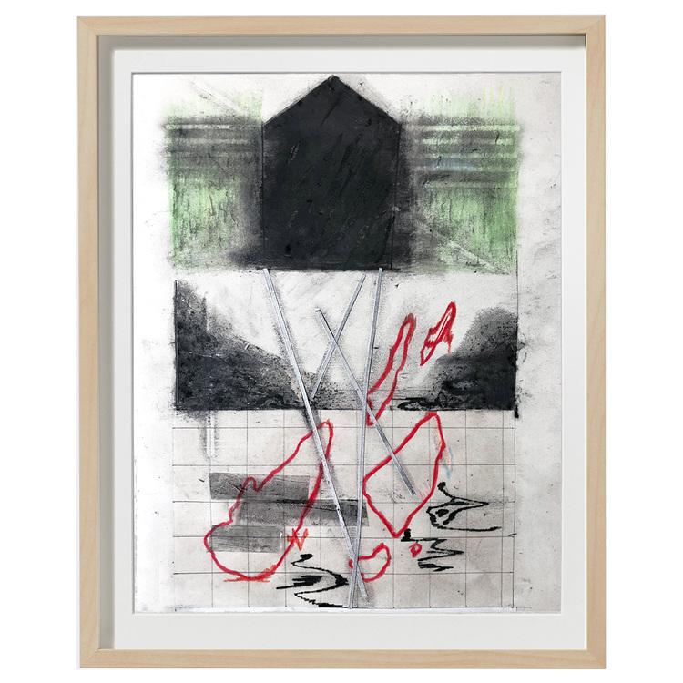 'Composition nr.7', 2018, ett konstverk av Luka Juras