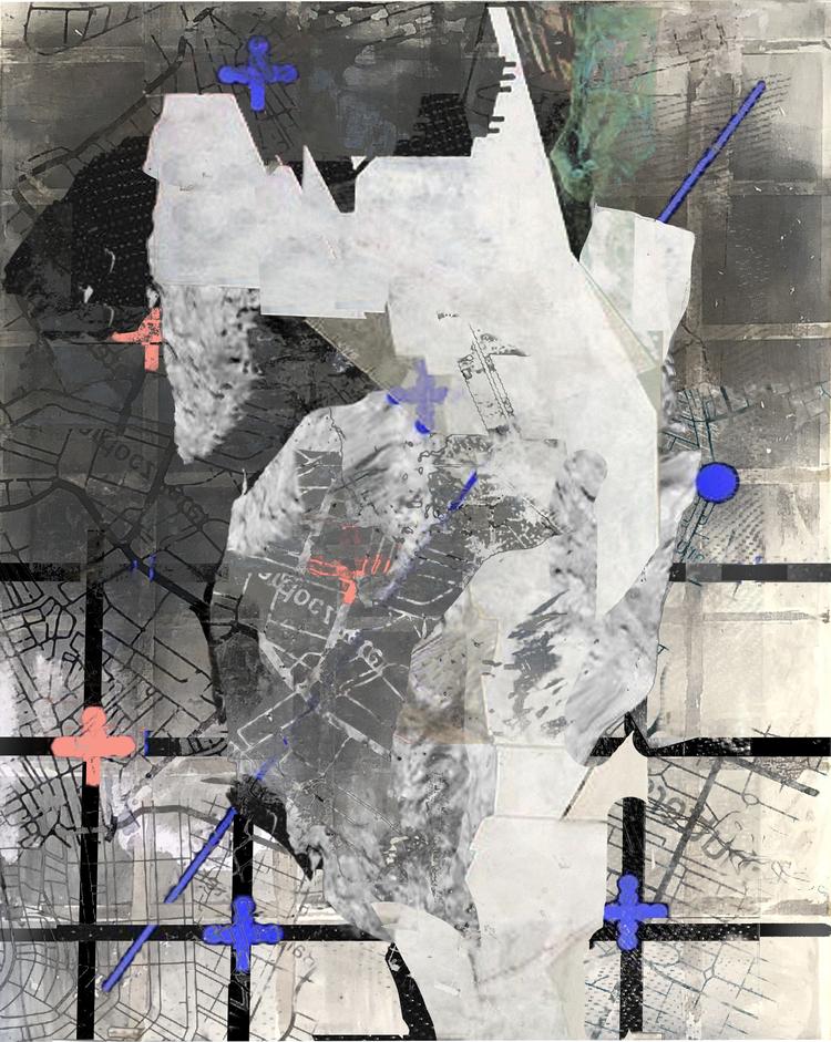 'CP / 3', 2017, ett konstverk av Luka Juras