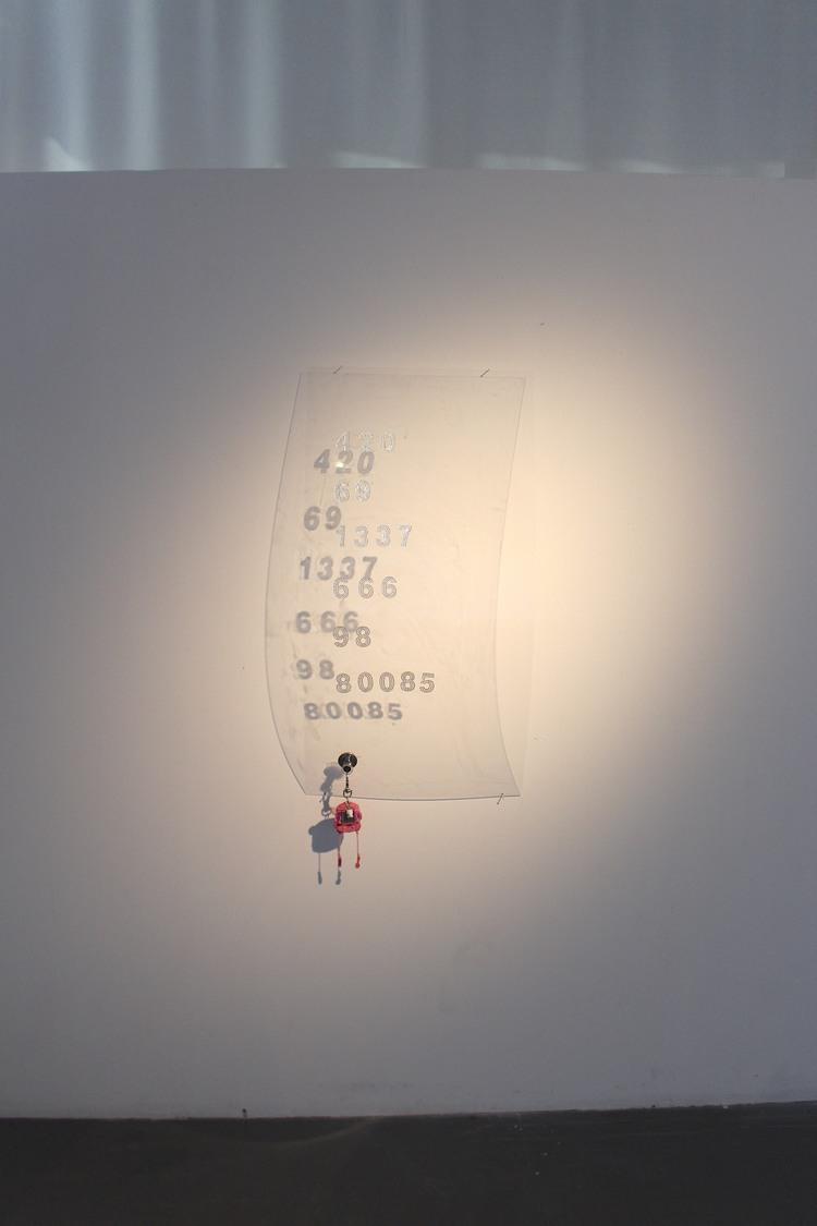 'The Language', 2019, ett konstverk av Estrid Åkermark
