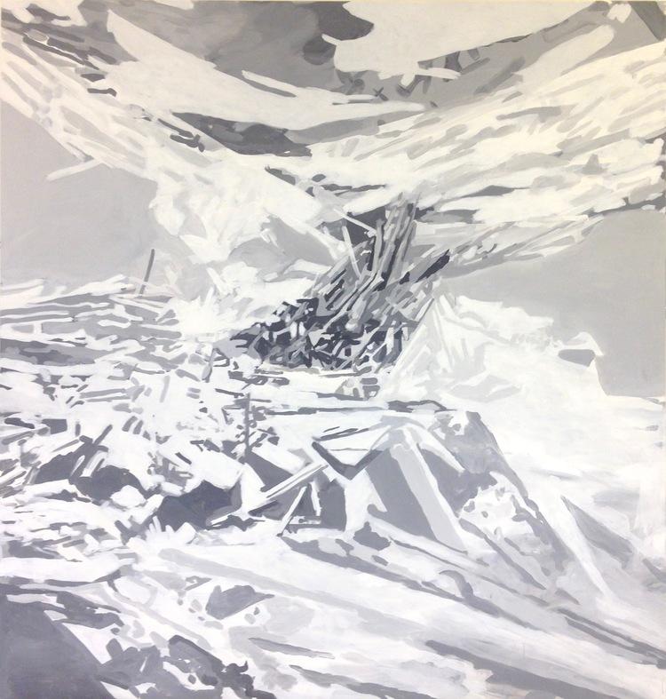 'The Aftermath I (2017)', 2018, ett konstverk av Niki Cervin