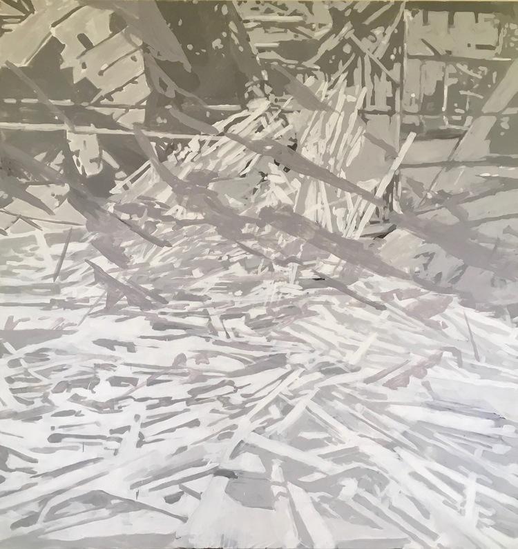 'The Aftermath II (2018)', 2018, ett konstverk av Niki Cervin