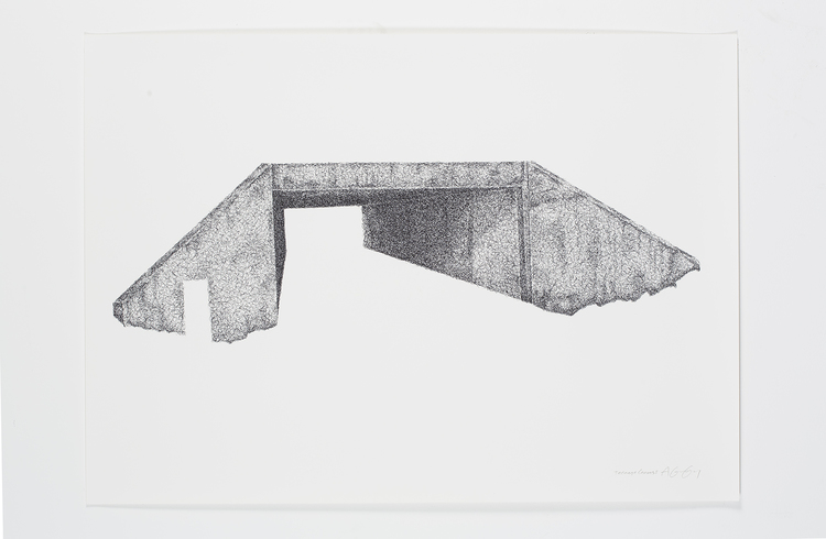 'Teenage Canvas I', 2016, ett konstverk av Anders Granberg