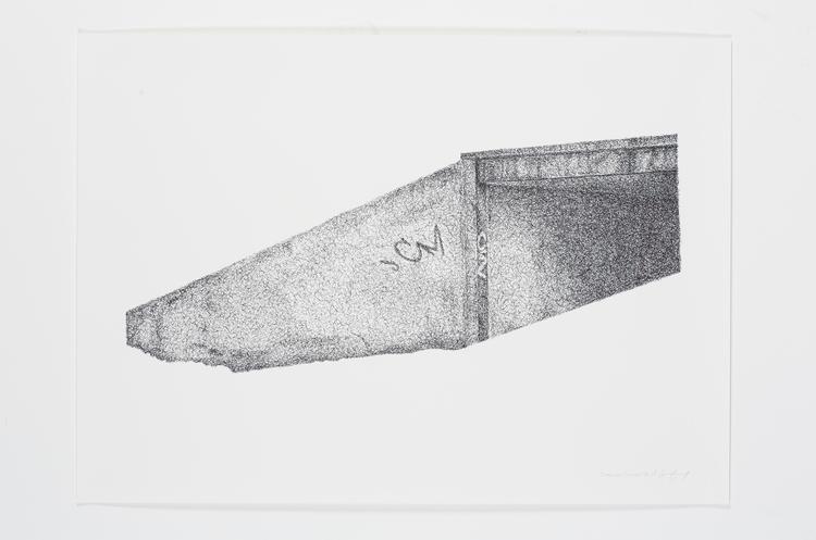 'Teenage Canvas IV', 2016, ett konstverk av Anders Granberg